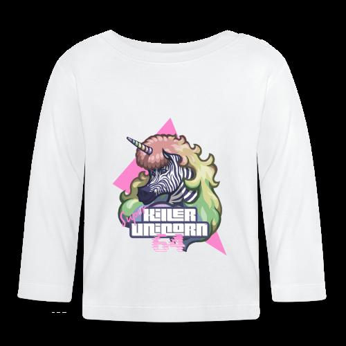 Super KILLER UNICORN - Baby Langarmshirt
