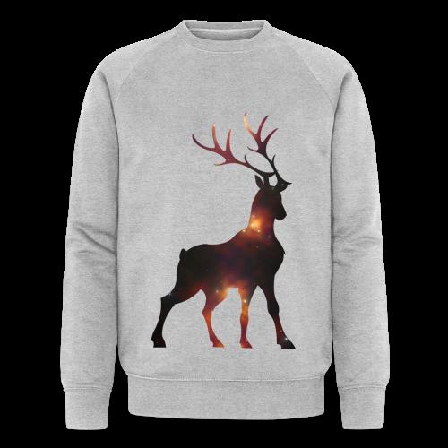 Hirsch - Männer Bio-Sweatshirt von Stanley & Stella