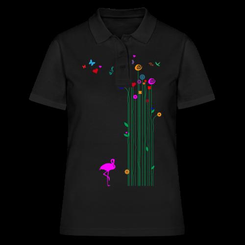 Schmetterlinge - Frauen Polo Shirt