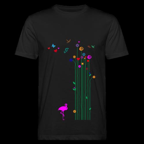 Schmetterlinge - Männer Bio-T-Shirt