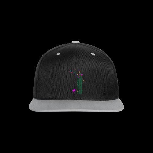 Schmetterlinge - Kontrast Snapback Cap