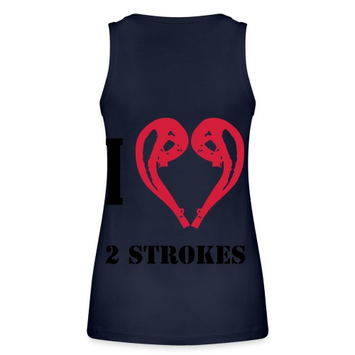 I love 2 strokes - Frauen Bio Tank Top von Stanley & Stella