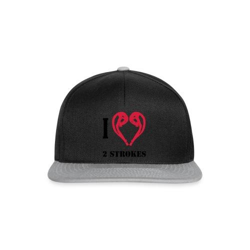 I love 2 strokes - Snapback Cap