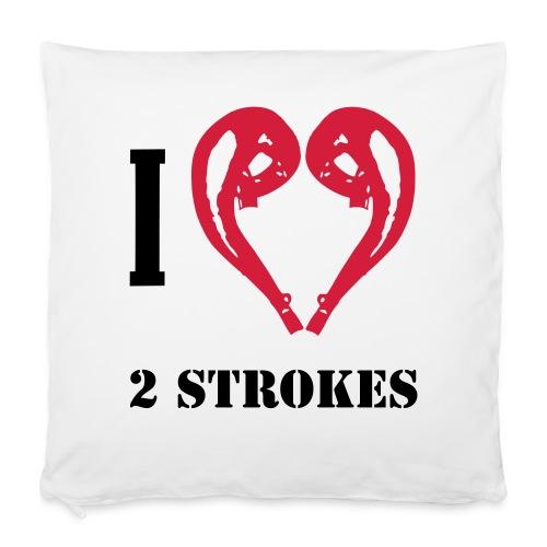 I love 2 strokes - Kissenbezug 40 x 40 cm