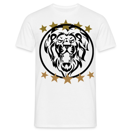 Gym shirt lion - Mannen T-shirt