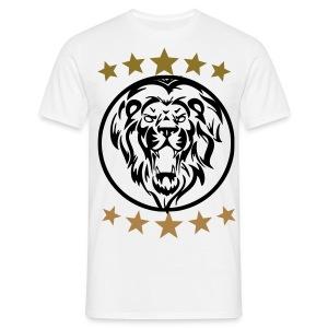 Gym shirt lion - Mannen T-shirt
