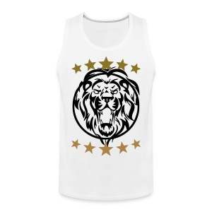 Gym shirt lion - Mannen Premium tank top