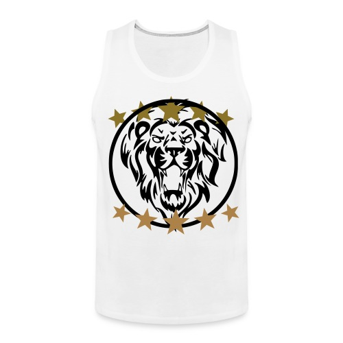 Gym shirt lion - Mannen Premium tank top