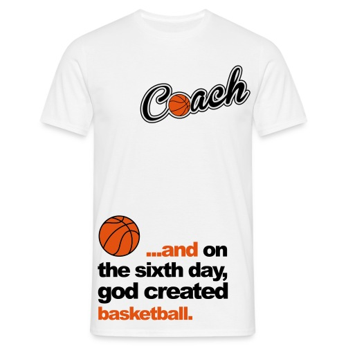 Basketbal Coach - Mannen T-shirt