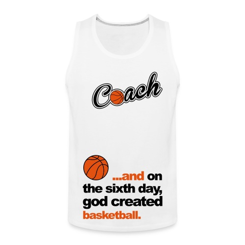 Basketbal Coach - Mannen Premium tank top