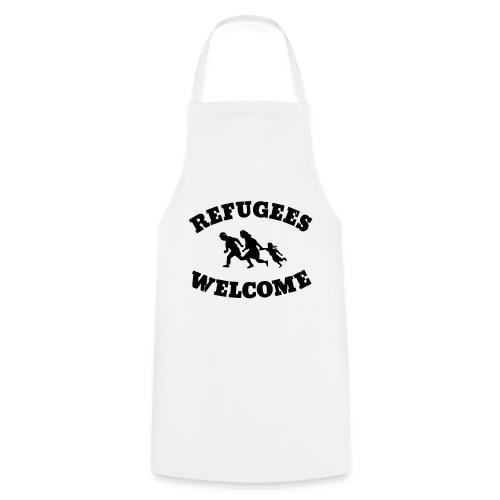 Refugees Welcome - Kochschürze