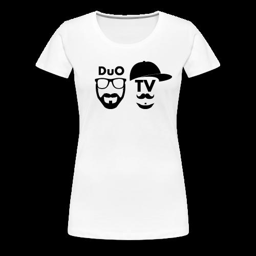Memes 4Girls (schwarz-weiß) - Frauen Premium T-Shirt