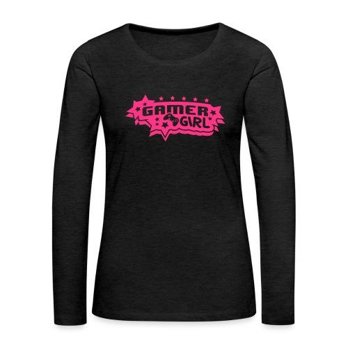 Gamergirl - Frauen Premium Langarmshirt