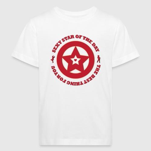 Sexy star  - Organic børne shirt