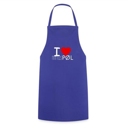 I love minusPØL Shirt Frauen - Kochschürze