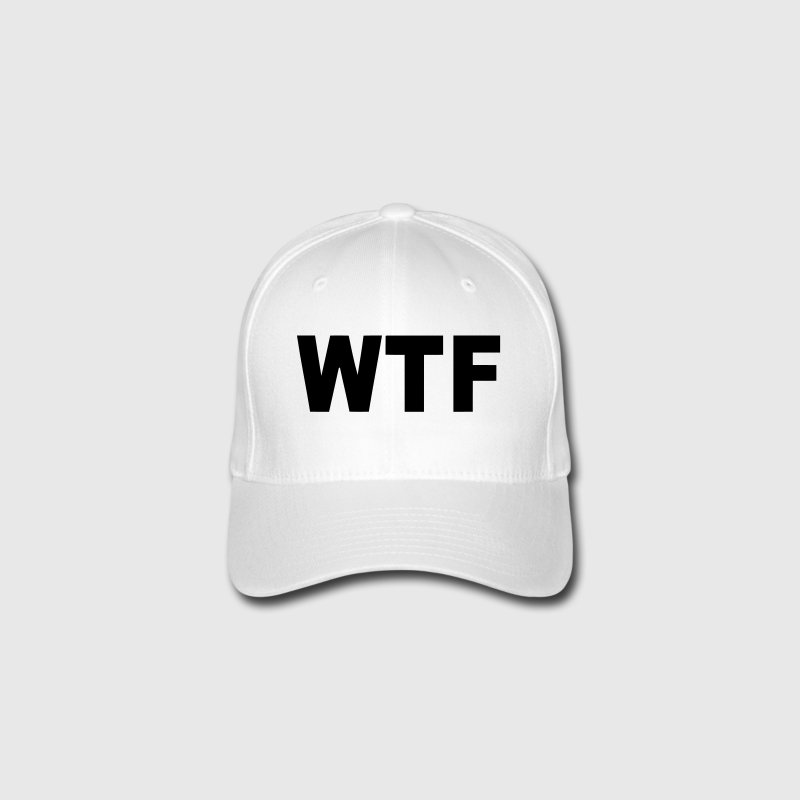 WTF? WHAT THE FUCK? Gorras y gorros - Gorra de béisbol Flexfit
