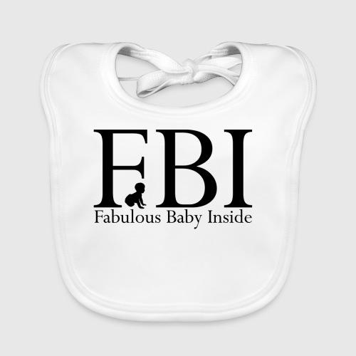 FBI Dragt Baby - Baby økologisk hagesmæk