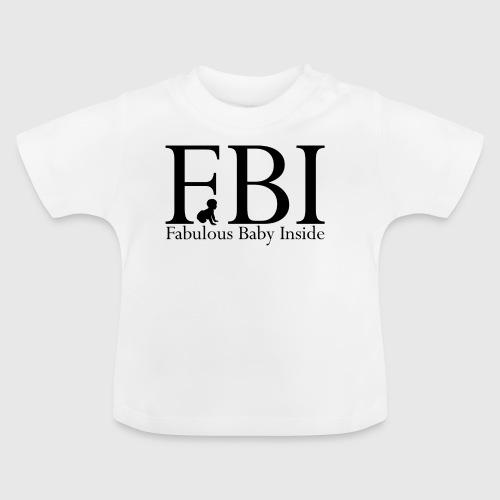 FBI Dragt Baby - Baby T-shirt