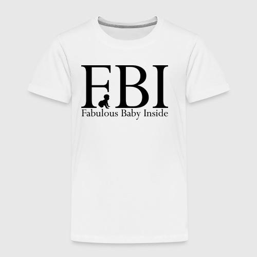 FBI Dragt Baby - Børne premium T-shirt