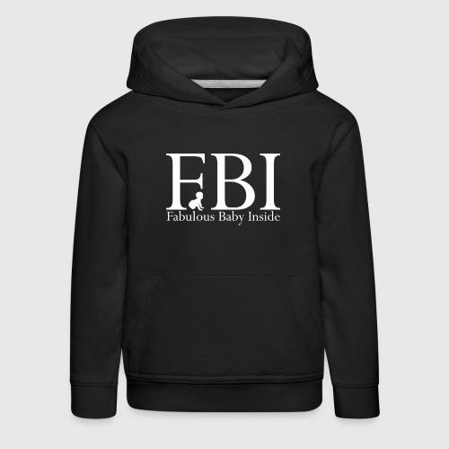 FBI Dragt Baby  - Premium hættetrøje til børn