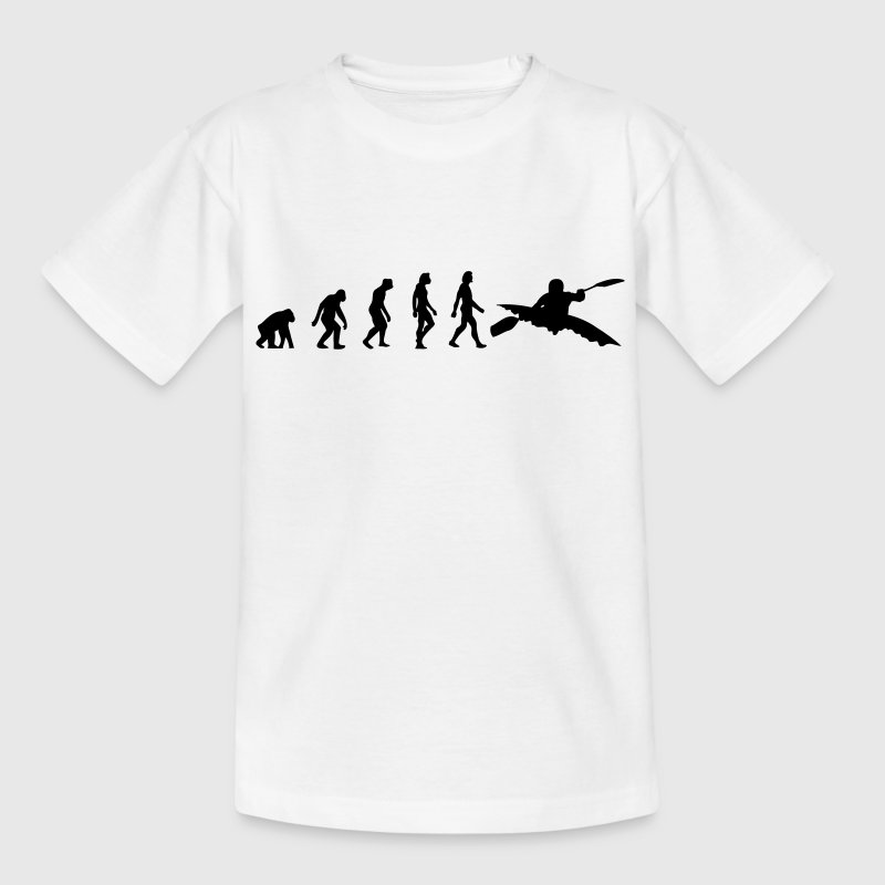 Die Evolution von Kajaken T-Shirts - Teenager T-Shirt