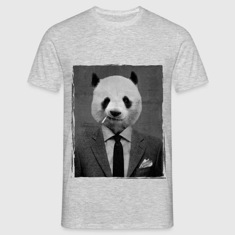 Dandy Panda T-Shirts - Männer T-Shirt