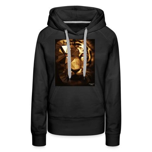 Tank Top Tiger - Frauen Premium Hoodie