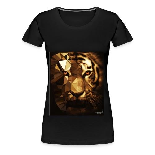 Tank Top Tiger - Frauen Premium T-Shirt