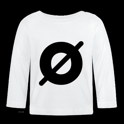 Ø (unisex) - Langærmet babyshirt