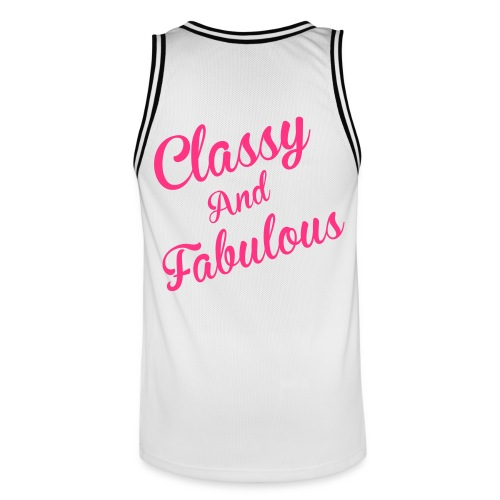 Classy and Fabulous  - Men's Basketball Jersey