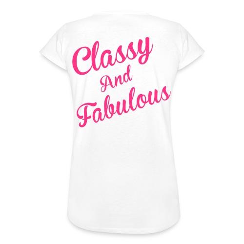 Classy and Fabulous  - Women's Vintage T-Shirt
