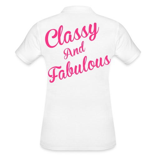 Classy and Fabulous  - Women's Polo Shirt