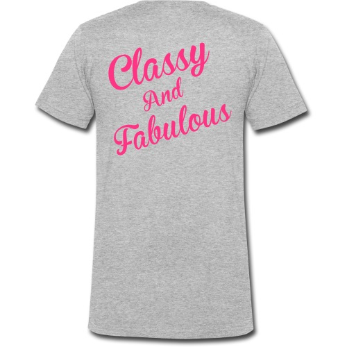 Classy and Fabulous  - Men's Organic V-Neck T-Shirt by Stanley & Stella