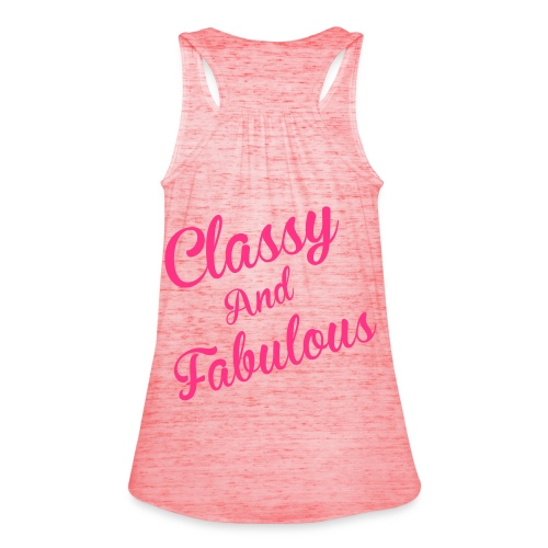 Classy and Fabulous  - Women's Tank Top by Bella