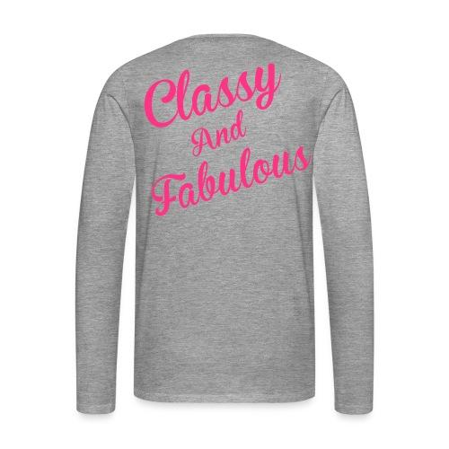 Classy and Fabulous  - Men's Premium Longsleeve Shirt