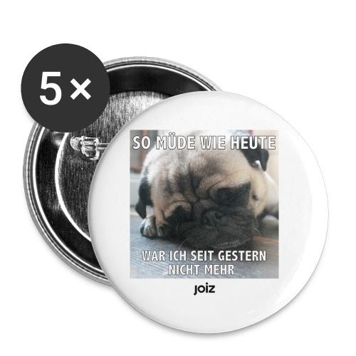 Puhbert schläft - Buttons klein 25 mm