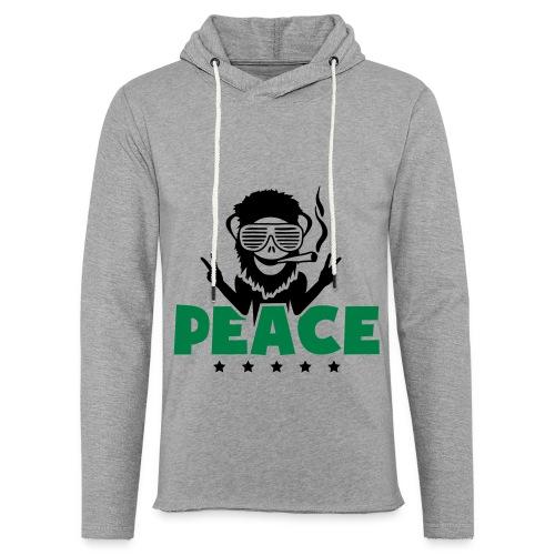 Sweat a capuche Weed Peace - Sweat-shirt à capuche léger unisexe
