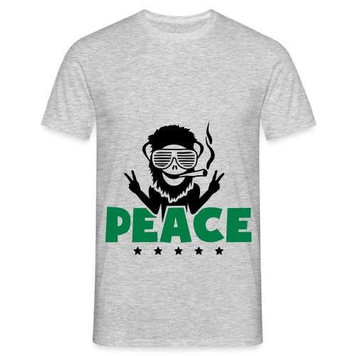 Sweat a capuche Weed Peace - T-shirt Homme