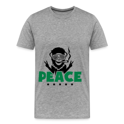 Sweat a capuche Weed Peace - T-shirt Premium Homme
