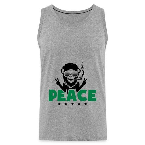 Sweat a capuche Weed Peace - Débardeur Premium Homme