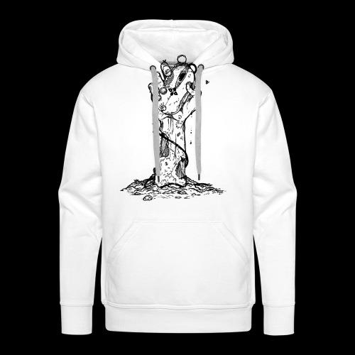 Dead pc gamer T-shirt - Men's Premium Hoodie