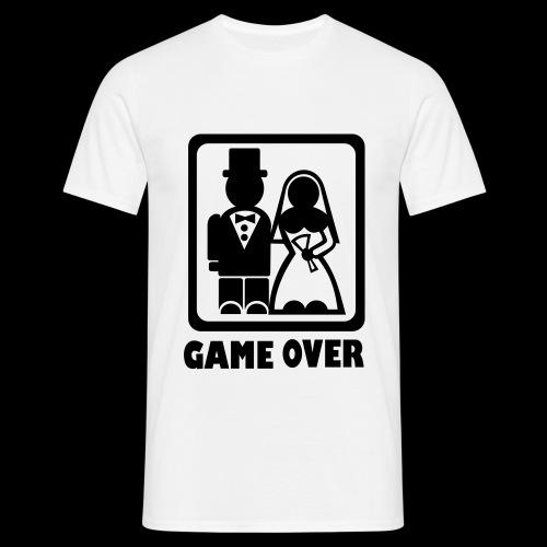 Gamers Wedding T-shirt - Men's T-Shirt
