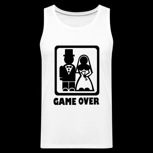 Gamers Wedding T-shirt - Men's Premium Tank Top