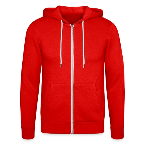 mother red cap - Unisex Hooded Jacket by Bella + Canvas