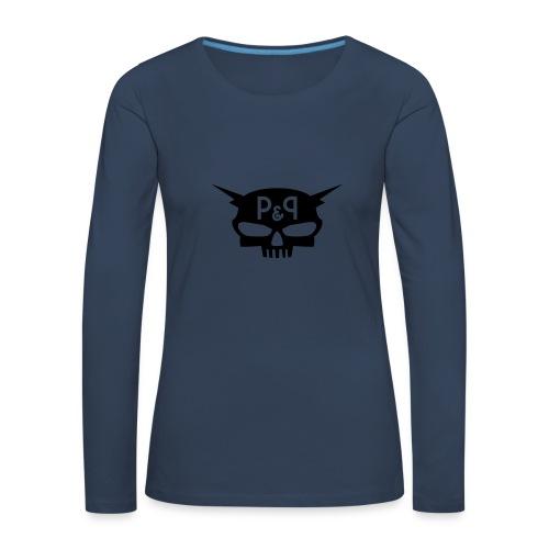 Bonnet P&P Wearz Bones Power - T-shirt manches longues Premium Femme