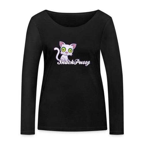 Pussy Messenger - Frauen Bio-Langarmshirt von Stanley & Stella