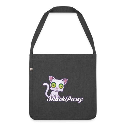 Pussy Messenger - Schultertasche aus Recycling-Material