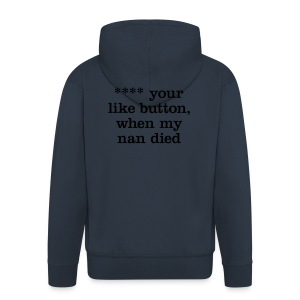 ...like button - Men's Premium Hooded Jacket