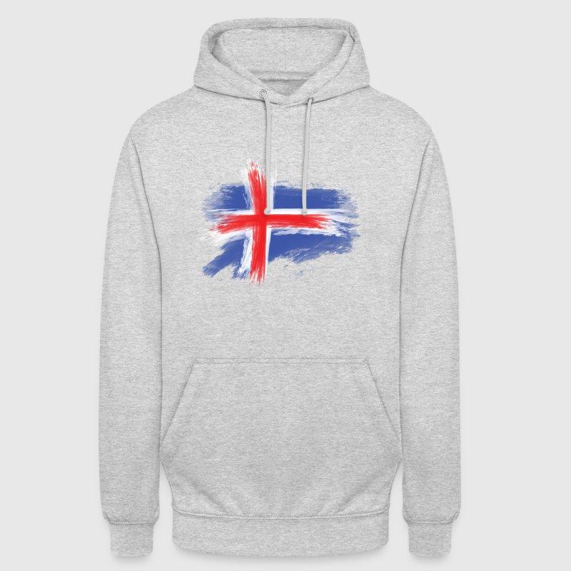 island flagge Pullover & Hoodies - Unisex Hoodie