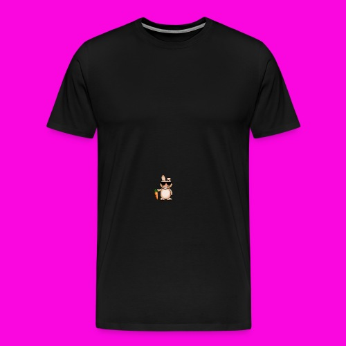 De wortel pet - Mannen Premium T-shirt